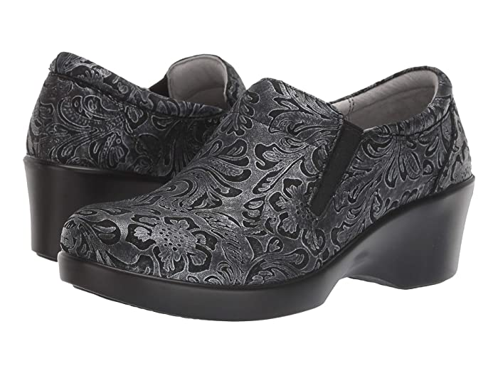 Alegria  Eryn (Pewter Swish) Womens Clog Shoes