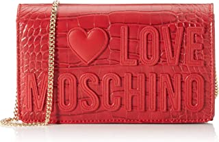 Love Moschino Damen Borsa Croco Pu Damentasche, Normale