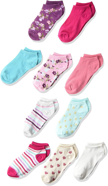 The Children's Place girls 10 Pack Ankle Socks