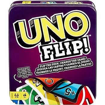 Mattel GDG37 Uno Flip Juego de cartas, 7años+