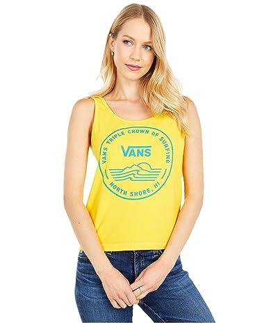 Vans 2020 VTCS Logo Tank (Lemon Chrome) Women