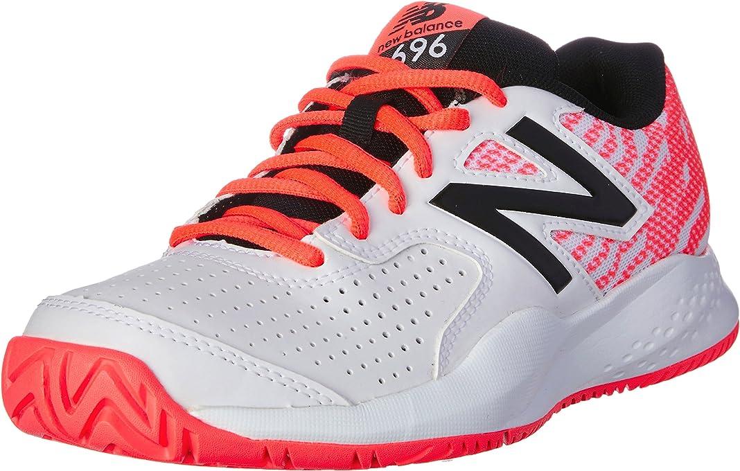 New Balance Women's 696v3 Tennis Shoes, Navy
