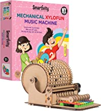 Mechanical Xylofun Music Fun for 8+ Years Boys and Girls, STEM, Learning, Educational and Construction Activity Toy Gift (Multi-Color)