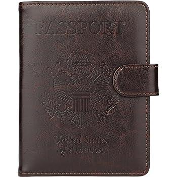 Banana Leaf Home Multi-purpose Travel Passport Set With Storage Bag Leather Passport Holder Passport Holder With Passport Holder Travel Wallet