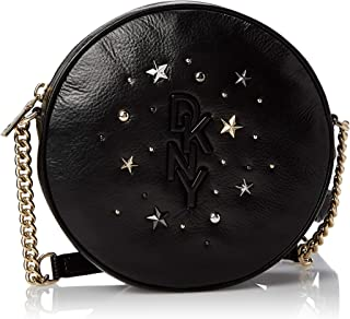 DKNY Womens HandBag, Black (Black/Gold) - R94EUF47