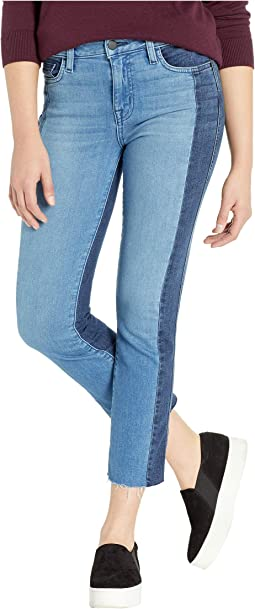 Modern Standard Straight Crop Jeans in Noho Arts Blue