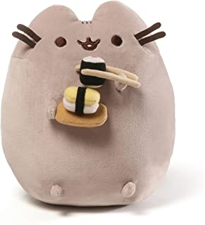 GUND Pusheen Snackables Sushi Chopsticks Plush Stuffed Animal Cat, 9.5""