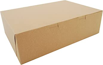 Southern Champion Tray 1025K Kraft Non Window Bakery Box, 14