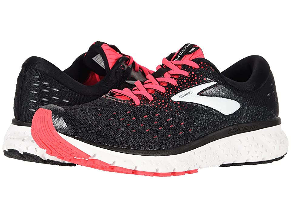 Brooks Glycerin 16 (Black/Pink/Grey) Women