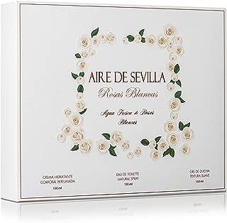 Set Perfume Mujer Rosas Blancas - Aire de Sevilla - EDT,