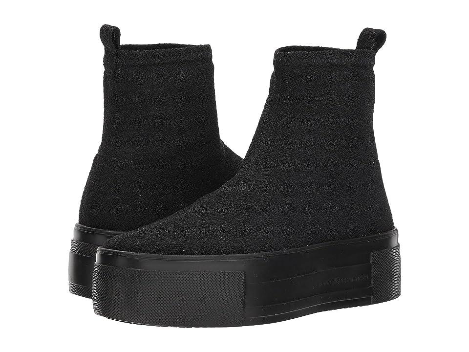 Kennel & Schmenger Top Stretch Sock Sneaker (Black Stretch Knit) Women