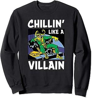 Marvel Loki Chillin' Like a Villain Sweatshirt