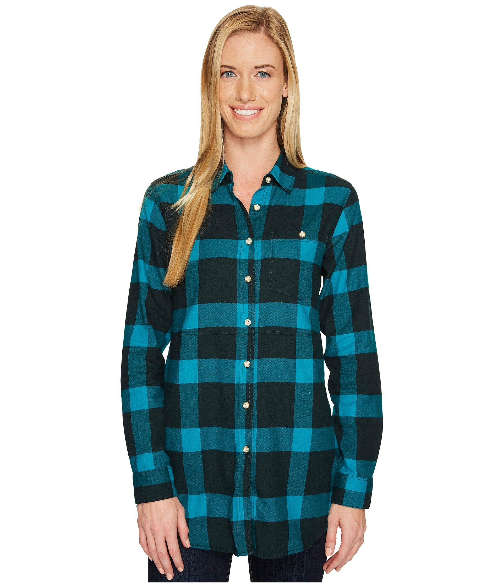 MOUNTAIN HARDWEAR Pt. Isabel Long Sleeve Tunic, Blue Spruce