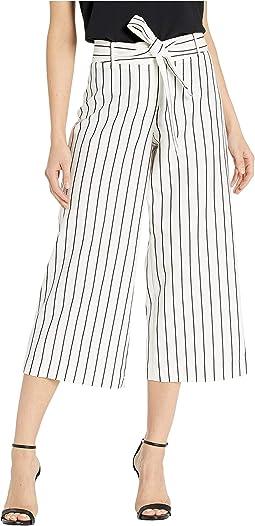 Ivory/Black Stripe
