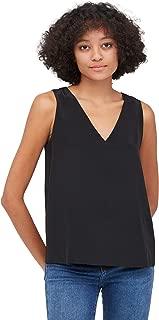Silk Camisoles for Women Tank Tops Ladies Girls Summer Cool Soft V Neck Sleeveless