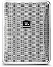 JBL Professional Control 25-1L Compact 8-Ohm Indoor/Outdoor Background/Foreground Speaker, White (Sold as Pair) (Control 25-1L-WH)