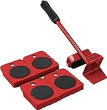 Meubel/Deur Moving Kit, met 1 meubellifter met een maximaal draagvermogen van 150 kg en 4 wielen voor het gemakkelijk verp...