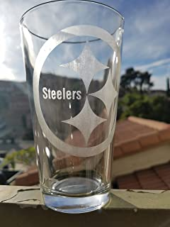 Steelers NFL Pittsburgh Pint Glass Beer Cup