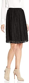 Star Vixen Women's Lace Skater Short Full Skirt