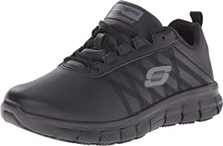 Skechers for Work Women's Sure Track Erath Athletic Lace Work Boot
