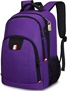 Travel Backpack for Women,15.6 Inch Laptop Backpack School Backpack for Girls with USB Charging Slit, Anti Theft Casual Da...