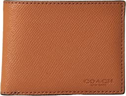Slim Billfold in Burnished Crossgrain