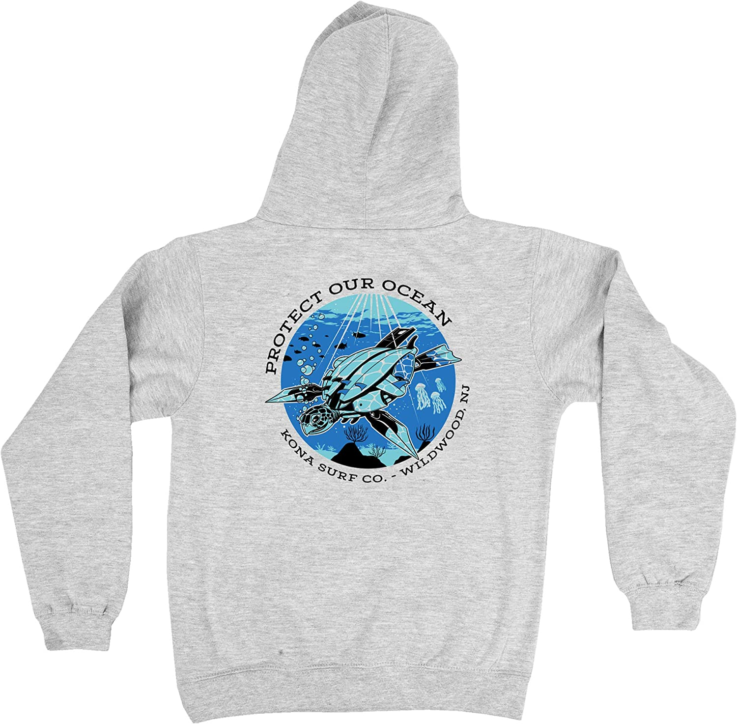 KONA SURF CO. Protect Our Ocean Boys Pullover Hoodie