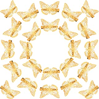 Best gold butterfly hair clips Reviews
