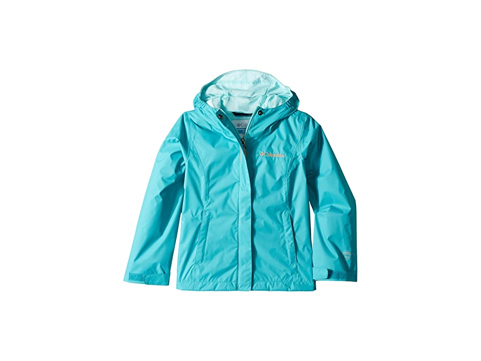 Columbia Kids Arcadiatm Jacket (Little Kids/Big Kids) (Geyser/Candy Mint/Peach) Girl