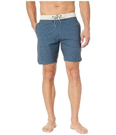 VISSLA 18.5 Polyps Boardshorts (Ocean Blue) Men