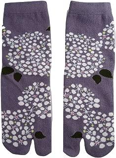 Spiraea Women 5 Inch Cuff Tabi Socks