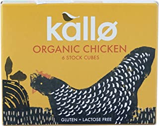 Kallo - Organic Chicken Stock Cubes - 66g