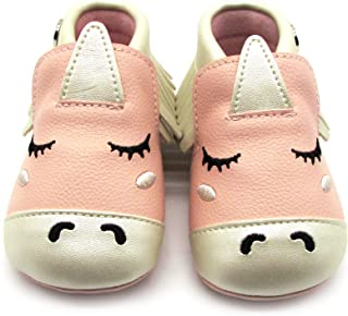 Infant Baby Boys/Girls Cartoon Character Anti-Ship Soft Sole Shoes