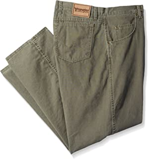 بنطلون Wrangler Men's Big Rugged Wear Regular Fit Straight Leg