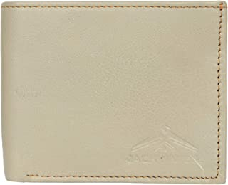 Jackwell Genuine Leather Wallet for Men (Off-White)
