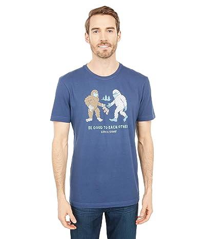 Life is Good Bigfoot and Yeti Kindness Crushertm (Darkest Blue) Men
