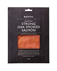 Booths Scottish Strong Oak Smoked Salmon, 100 g