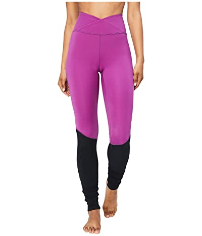 Core 10 Icon Series The Ballerina Yoga Leggings (Violet/Black) Women