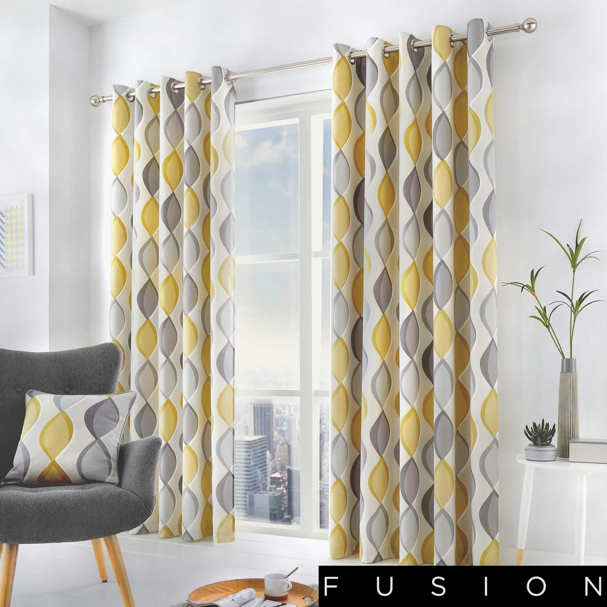 Fusion - Cojín relleno de algodón, Gris, Curtains: 66
