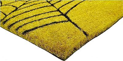 """Home & More 120911729 Spiderweb Doormat, 17"""" x 29"""" x 0.60"""", Multicolor"""