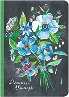 Katie Daisy: Flowers Always Travel-Size Journal (5 x 7, 192 pages)