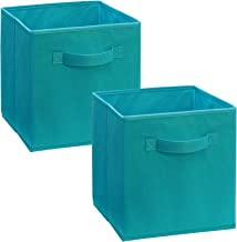 ClosetMaid 11530 Cubeicals Fabric Drawer, Ocean Blue, 2-Pack