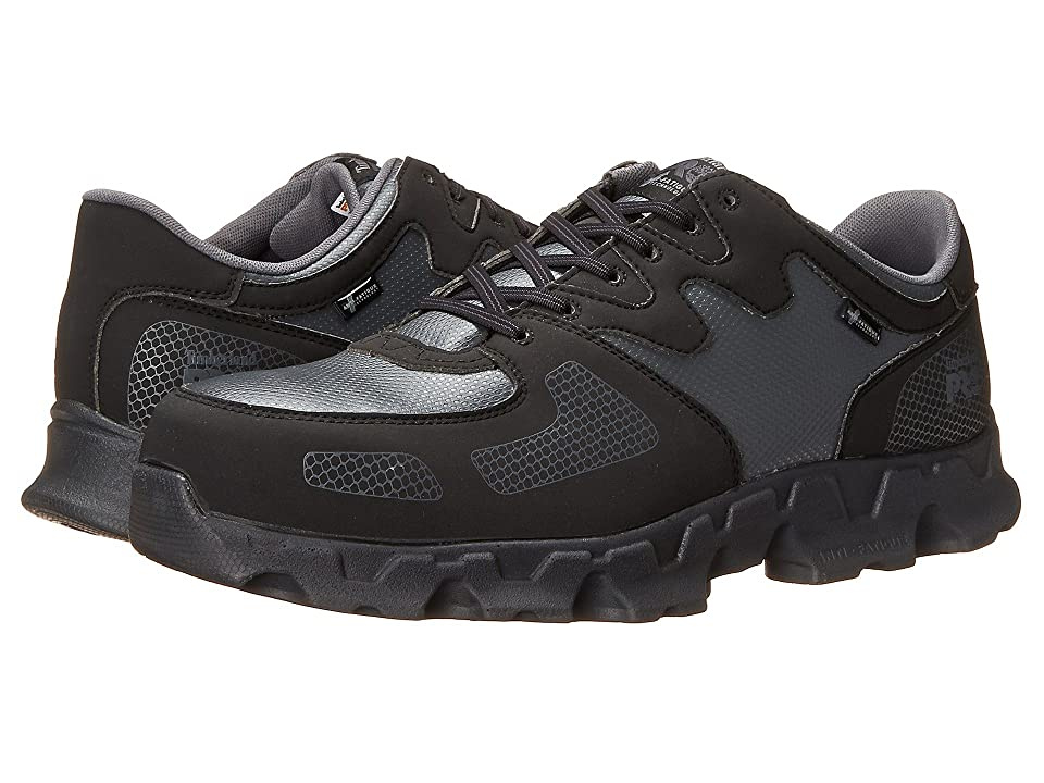 Timberland Powertrain ESD Alloy Safety Toe (Black/Grey) Men