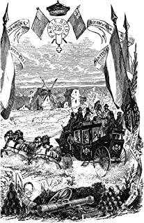 Tourists Carriage C1875 Na Carriage Ride Through The French Countryside For British And American Tourists Organized By Herv Du Lorin Wood Engraving English C1875 Poster Print by (24 x 36)