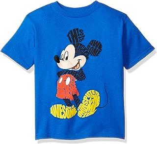 Freeze Children's Apparel Disney Little Boys' Toddler Mickey Mouse Short Sleeve T-Shirt