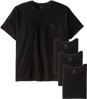 Men's FreshIQ Odor Control 4-Pack Pocket Crew T-Shirt
