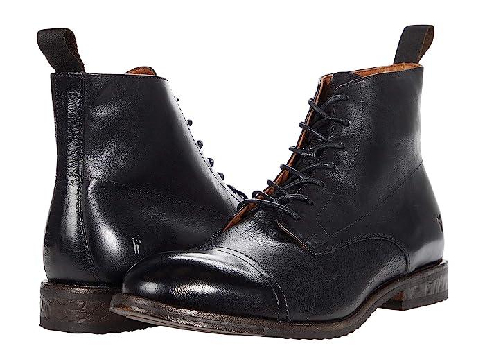 Men's Vintage Clothing | Retro Clothing for Men Frye Grant Lace-Up $327.95 AT vintagedancer.com