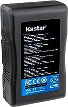 Kastar V-Mount BP-C178 Broadcast Replacement Li-ion Battery, 14.8V 12000mAh 178Wh for Anton Bauer CINE 90, ARRI Alexa Minicamera, Aja Cion Camera Body, Blackmagic Design URSA Camera, Cine Alta Camera