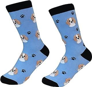 Cavalier King Charles Spaniel Dog Breed Socks Unisex Sock Daddy by E&S Pets