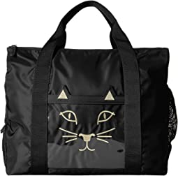 Charlotte Olympia - Purrrfect Gym Bag